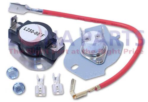 Thermal Cut Off Kit Dryer Thermostat KitchenAid Whirlpool Maytag Kenmore 279816