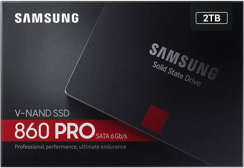 Samsung SSD 860 PRO 2 TB RECHNUNG / UNBESCHRIEBEN