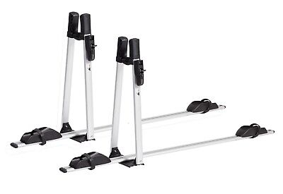 2x VDP Fahrradträger ALU Premium Fahrradhalter Fahrrad Dachträger abschließbar