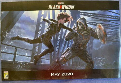 2019 SDCC MCU Conceptual Black Widow Taskmaster Movie Poster Andy Park