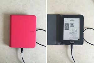 Kobo E-Reader (with case and cord)