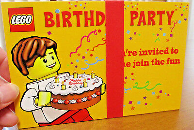 LEGO BIRTHDAY PARTY INVITATIONS 10 - Lego Birthday Invitations