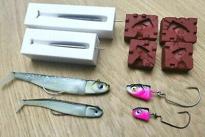 3//4 oz Built-in Offset Hook DIY Lure Amazing Jig Head Mold 20 g