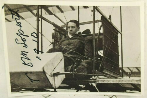 Thomas Sopwith English Aviation Pioneer Signed Photo Founder Sopwith Aircraft
