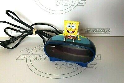 Nickelodeon - SpongeBob SquarePants - Alarm Clock - Plug in & 9v Backup - 2003