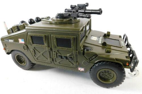Hasbro GI Joe 2001 Motorized US Army Humvee With Sounds & Movement Works