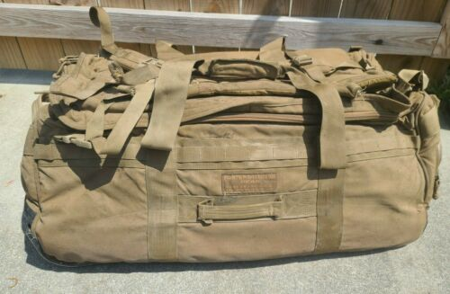 USMC Force Protector Gear DEPLOYMENT BAG Deployer Coyote Brown ~Outside Mold~