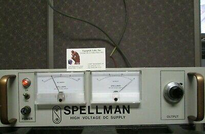 Hv Power Supply 0-15000v 15kv 2ma Working Spellman Rhr15pn30