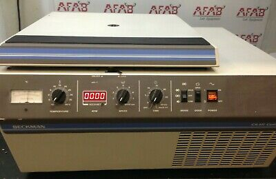 Beckman Gs-6r Refrigerated Benchtop Centrifuge 362114