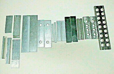 Machinist Lot Of 11 Sets Of Parallels-steel Aluminumset-upmachining Blocks