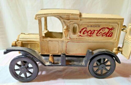 Vintage Cast Iron Pepsi-Cola Delivery Truck  **RARE**