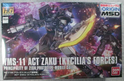 YMS-11 Act Zaku  #0221056 - HG 1/144 Scale Model Kit - Gundam The Origin