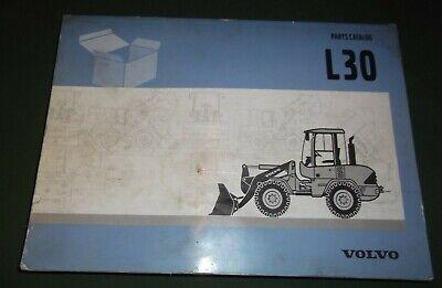 Volvo L30 Wheel Loader Parts Manual Book Catalog