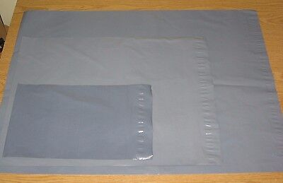 Pack of 30 Mixed Sizes Strong Grey Mail Bags Strong Parcel Sacks S M L Mix