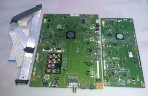SHARP LC-80LE642U MAIN BOARD G381FM01 / KG381 T-CON BOARD,RIBBONS INCLUDED