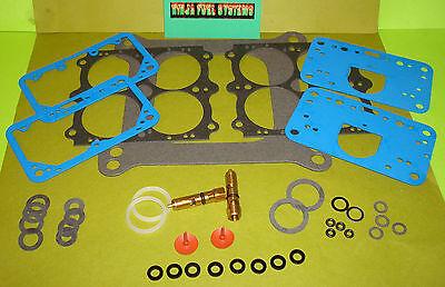 Rebuild Kit For Holley 850 Mechanical Secondary Carburetor Blue 30cc Pumps Both