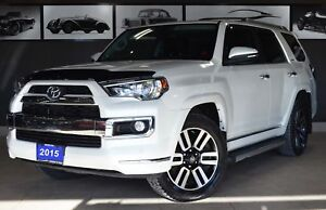 2015 Toyota 4Runner Limited, Navi, Leather, Heated/Cooled seats,