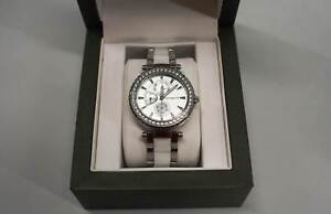 Michael Hill Ladies Ceramic And Stainless Steel Watch, New Nerang Gold Coast West Preview
