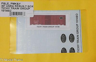 Tichy Train Group O #10146O P&LE, PMK&Y 40' USRA Rebuilt Box (O Scale)