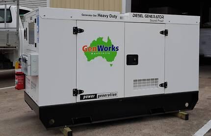 New Diesel Generators 20kVA, 30kVA & 50kVA 240/415V in Canopy Raceview Ipswich City Preview