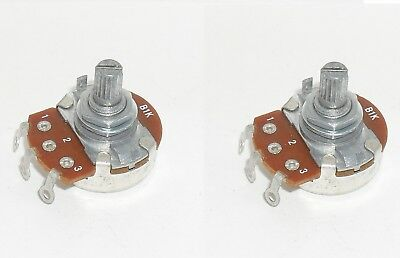 Pack Of 2 B1k Potentiometer Linear Pot 1 Kohm Panel Mount