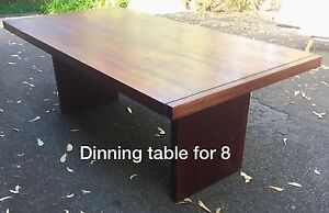 Beautiful dinning table Warriewood Pittwater Area Preview