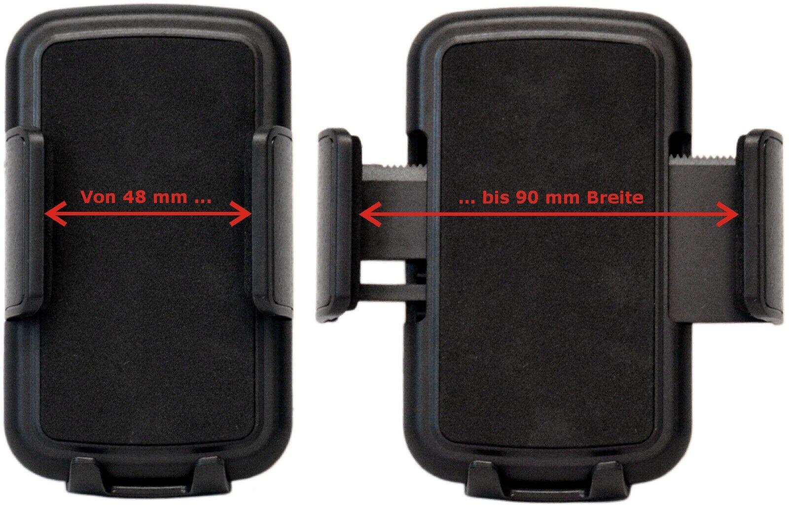 Universal Auto KFZ Handy Smartphone Halter Halterung 4QuickFix RICHTER HR