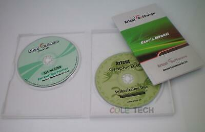 Artcut 2009 Pro Software For Sign Vinyl Plotter Cutter Cutting Plotter 9 Lang...