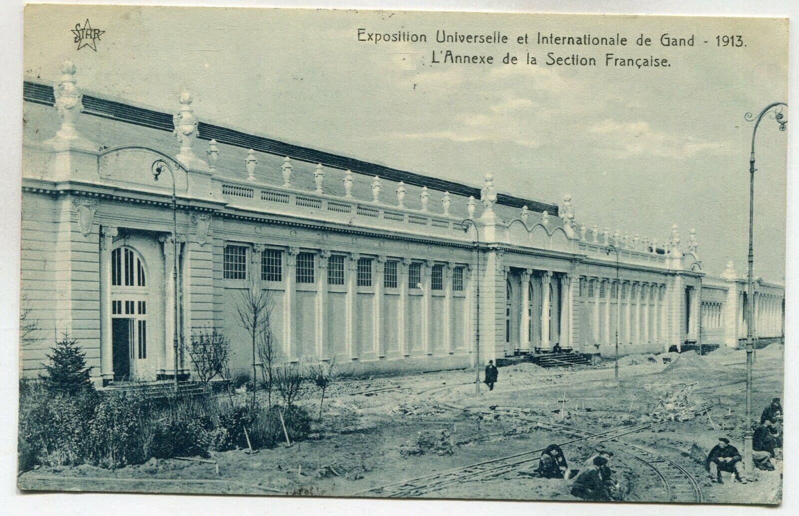 CPA - Carte Postale - Belgique - Exposition Universelle de Gand 1913 - L'Annexe