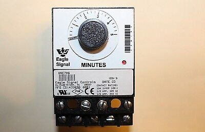Danaher Eagle Signal Controls Bre7a6 Electronic Reset Timer  120Vac  5 Minute