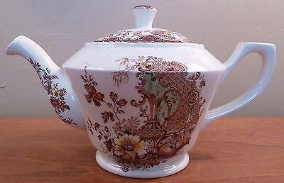 Vintage Barker Brothers Olde Staffordshire Royal Tudor Ware teapot