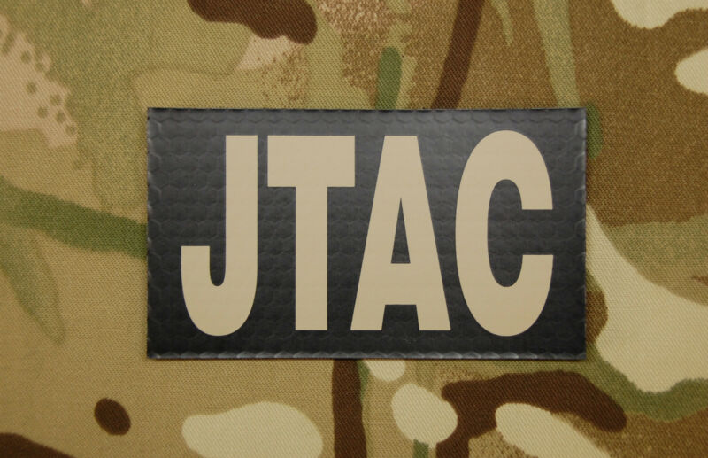 Infrared JTAC Patch NSW USAF US Army SF Joint Terminal Air Controller IR