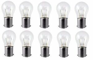 10x 1156 P21W 12v Light Bulb Car Brake Stop Signal Turn Reverse Tail Lamp BA15s