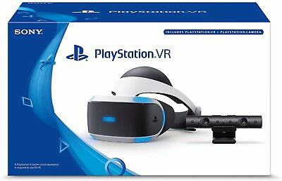 Sony PlayStation VR Headset & Camera Bundle PSVR Brand NEW