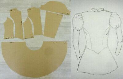 Schnittmuster Gardeuniform Gr. 40 oder bis 44 Tanzmariechen - Tanz Kostüm Muster