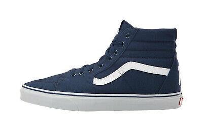 Vans Men Women Shoes New York Yankees Sk8 High Navy White NY