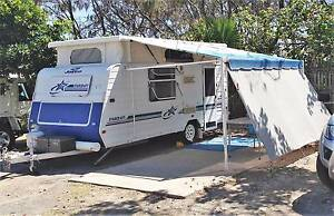 Jayco Starcraft Poptop Caravan 1999 Island bed Full annex Solar Norman Park Brisbane South East Preview