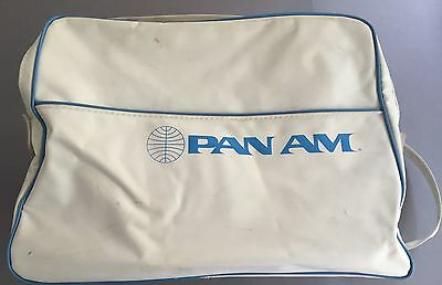 PAN AM VINTAGE AIRLINE FLIGHT CABIN BAG PAA RETRO 1970'S