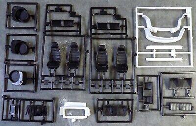 1/24 Fujimi Porsche Carrera & 911 Parts - Seats, Bumpers Lot of Unused