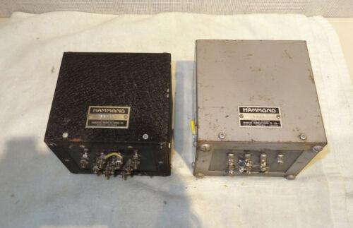 2 Hammond Williamson output transformers 1772 28566 10K Primary