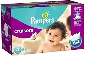 Pampers cruisers Diapers Size 4 152 Count