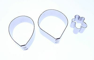 Vanda Orchid cutter set, Valley Cutter Company,  Sugarcraft cake decorating