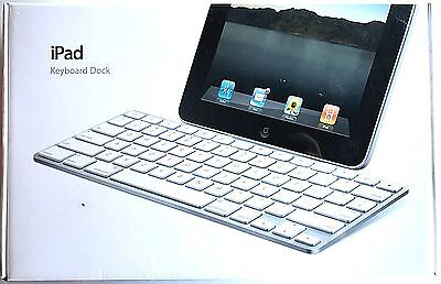 *NEW* Apple MC533LL/B Keyboard Dock A1359 for 1st, 2nd, & 3rd Generation iPad