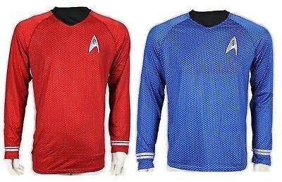 Scotty Engineering RED / Spock Science Blue Shirt uniform costume star trek 2009 - Spock Uniform Shirt