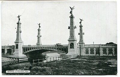 CPA - Carte Postale - Belgique - Ostende - Le Nouveau Pont (B9134)