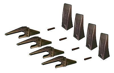 4 - Mini Excavator Bucket Teeth Weld-on Shanks Pins - X156l T230x156 P156