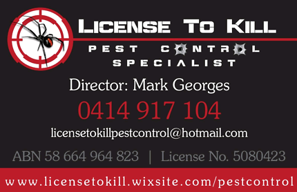 Pest control  Wetherill Park Fairfield Area Preview