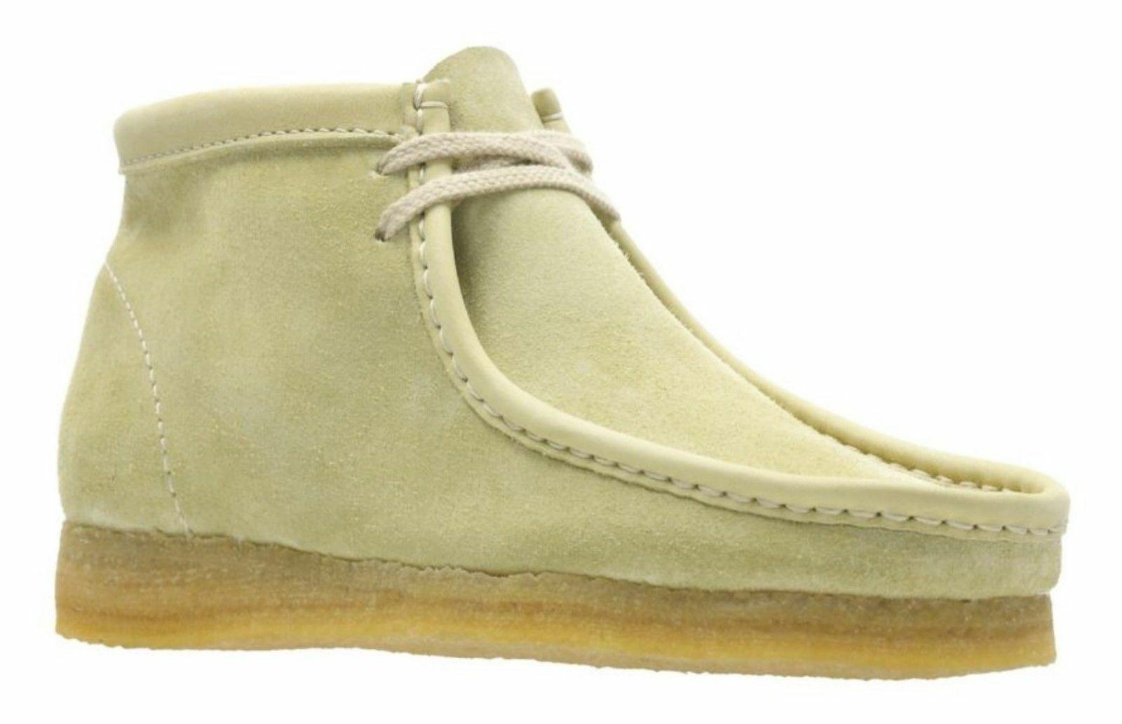 Clarks Originals Wallabee Boots Men's Maple Suede 26133283