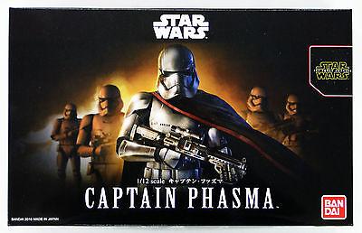 Bandai Star Wars Captain Phasma 1/12 scale kit 032281