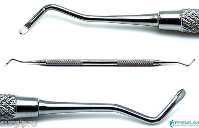 Dental Excavator 18w Restorative Double Ended Spoon 1.5mm Instruments
